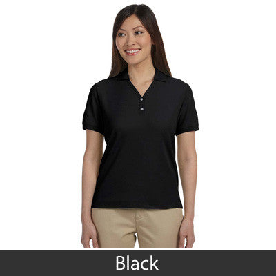 Devon & Jones Ladies Pima Pique Short-Sleeve Y-Collar Polo - EZ Corporate Clothing  - 2