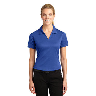 Sport-Tek Ladies Dri-Mesh V-Neck Sport Shirt - EZ Corporate Clothing  - 14