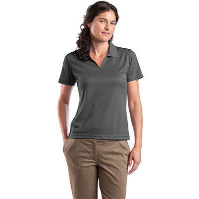 Sport-Tek Ladies Dri-Mesh V-Neck Sport Shirt - EZ Corporate Clothing  - 15
