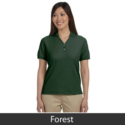 Devon & Jones Ladies Pima Pique Short-Sleeve Y-Collar Polo - EZ Corporate Clothing  - 9