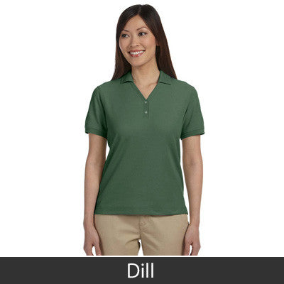 Devon & Jones Ladies Pima Pique Short-Sleeve Y-Collar Polo - EZ Corporate Clothing  - 8