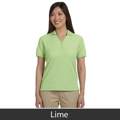Devon & Jones Ladies Pima Pique Short-Sleeve Y-Collar Polo - EZ Corporate Clothing  - 13