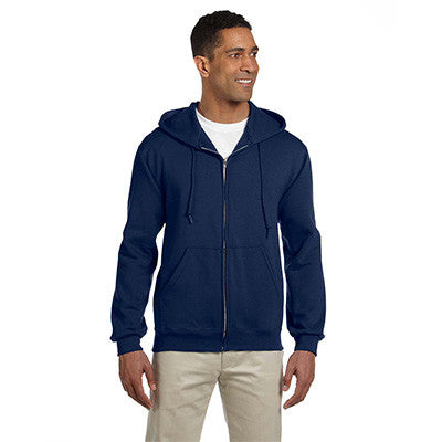 Jerzees Adult Super Sweats Full-Zip Hooded Sweatshirt - EZ Corporate Clothing  - 5