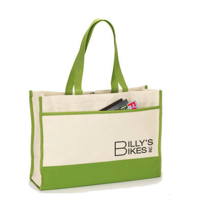 Custom Logo Embroidered Bags and Totes