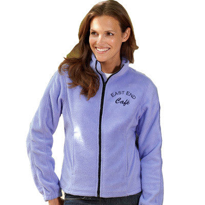 UltraClub Ladies Iceberg Fleece Full-Zip Jacket - EZ Corporate Clothing  - 1