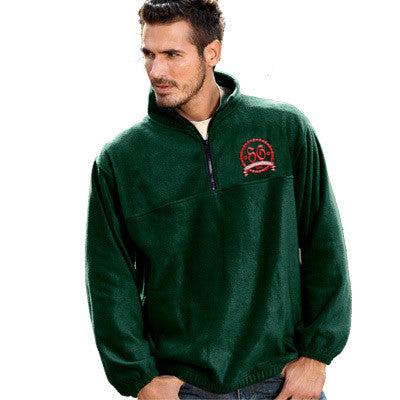 UltraClub Iceberg Fleece 1/4-Zip Pullover