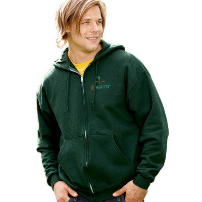 Jerzees Super Sweats Full-Zip Hooded Fleece