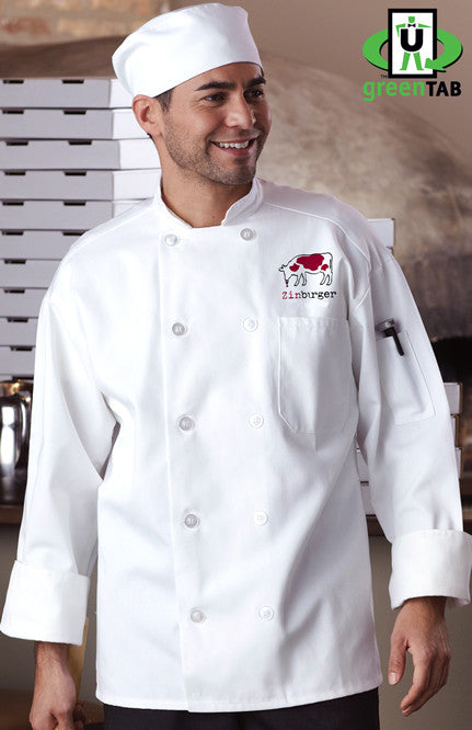 Classic Chef Coat with Mesh - Zinburger - EZ Corporate Clothing