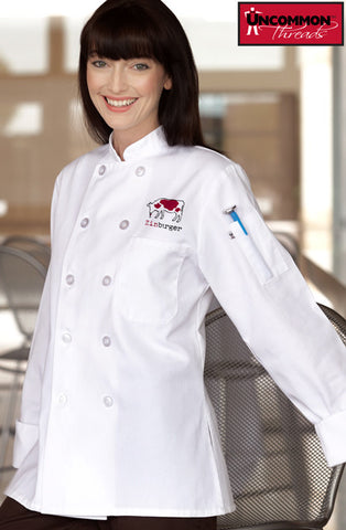 Napa Chef Coat for Women - Zinburger - EZ Corporate Clothing