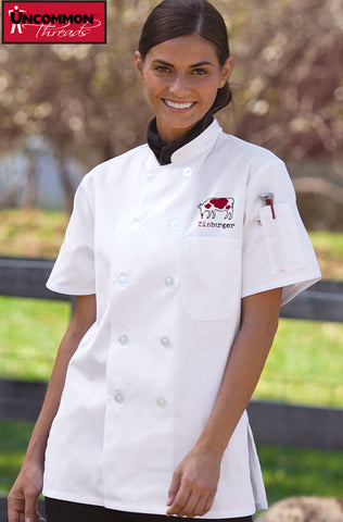 Tahoe Chef Coat for Women - Zinburger - EZ Corporate Clothing