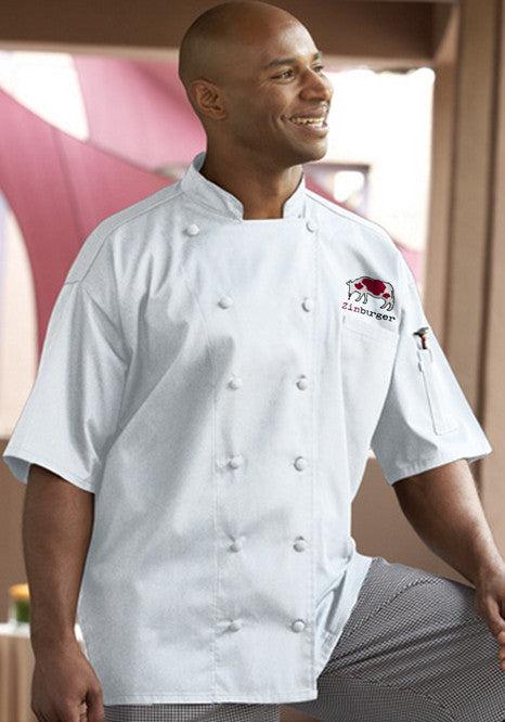 Aruba Chef Coat - Zinburger - EZ Corporate Clothing