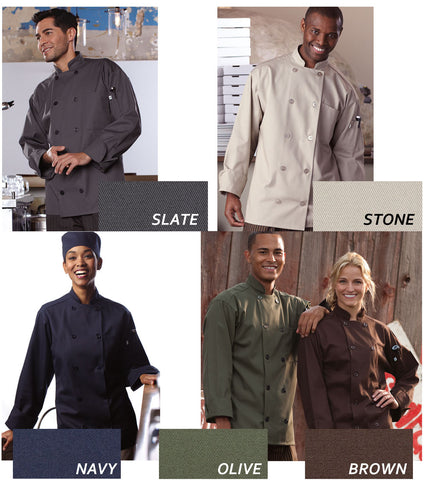 Orleans Chef Coat - EZ Corporate Clothing  - 2