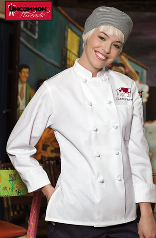 Sedona Chef Coat for Women - Zinburger