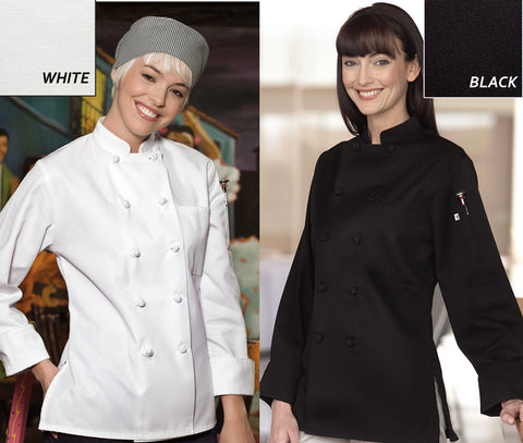 Sedona Chef Coat for Women - EZ Corporate Clothing  - 2
