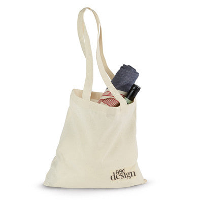 Gemline Economy Tote - Natural - EZ Corporate Clothing  - 1