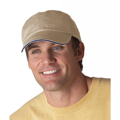 Anvil Solid Pigment-Dyed Twill Sandwich Cap - EZ Corporate Clothing  - 9