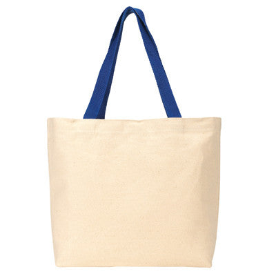 Gemline Colored Handle Tote - EZ Corporate Clothing  - 5