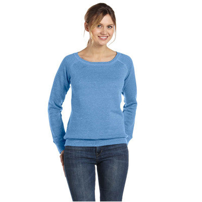 Bella Ladies 8.2Oz. Triblend Slouchy Wide Neck Fleece - EZ Corporate Clothing  - 3