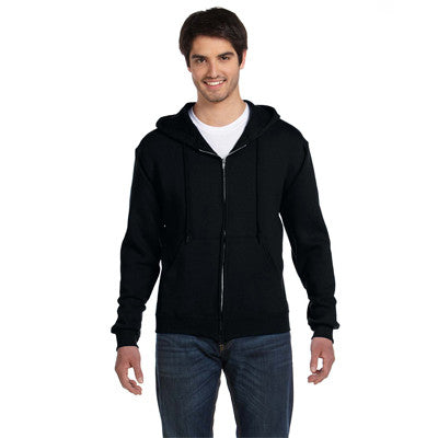 Fruit Of The Loom Supercotton Full-Zip Hooded Sweatshirt - EZ Corporate Clothing  - 3
