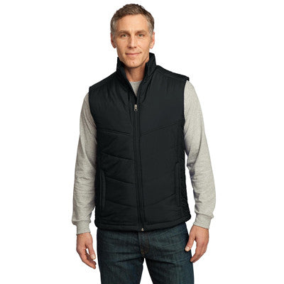 Port Authority Mens Puffy Vest - EZ Corporate Clothing  - 2