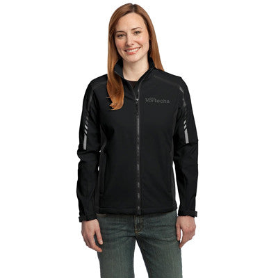 Port Authority Ladies Embark Soft Shell Jacket - EZ Corporate Clothing  - 2