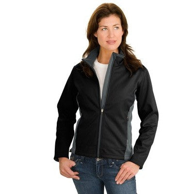 Port Authority Ladies Two-Tone Soft Shell Jacket - EZ Corporate Clothing  - 2