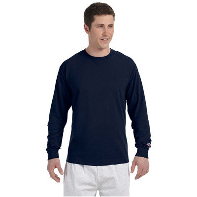 Champion Adult Tagless Long-Sleeve T-Shirt - EZ Corporate Clothing  - 6