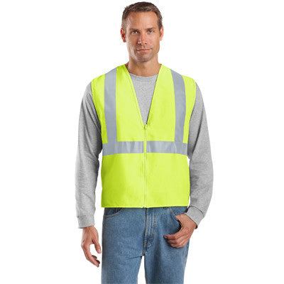 Cornerstone ANSI Compliant Safety Vest - EZ Corporate Clothing  - 3