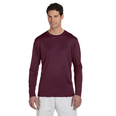 Champion Adult Double Dry Long-Sleeve Interlock T-Shirt - EZ Corporate Clothing  - 9