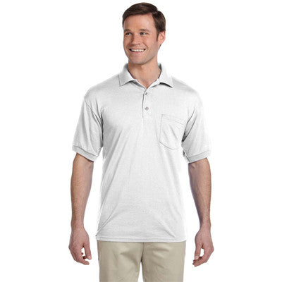 Gildan Adult Dryblend Jersey Polo With Pocket - Printed - EZ Corporate Clothing  - 8