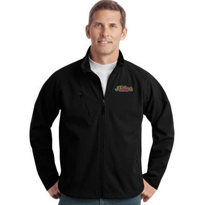 Port Authority Tall Textured Soft Shell Jacket - EZ Corporate Clothing  - 1