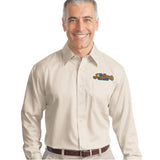 Port Authority Long-Sleeve Non-Iron Twill Shirt - EZ Corporate Clothing  - 1