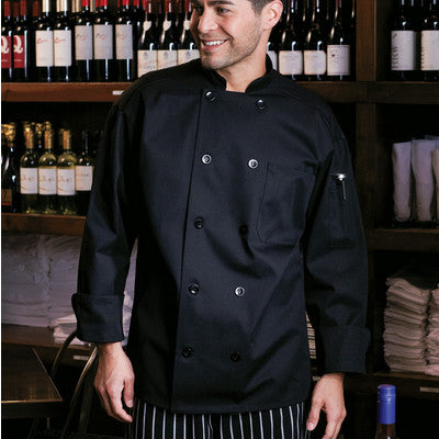 Classic Chef Coat with Mesh - EZ Corporate Clothing  - 2