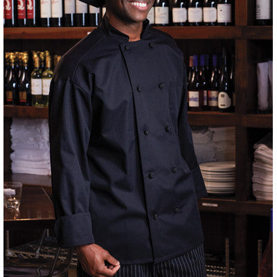 Classic Knot Chef Coat with Mesh - EZ Corporate Clothing  - 2