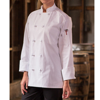 Classic Knot Chef Coat - EZ Corporate Clothing  - 2