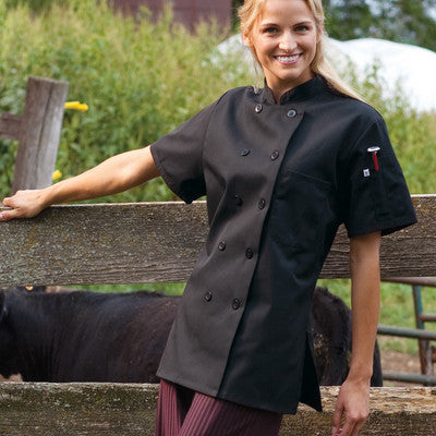 Tahoe Chef Coat for Women - EZ Corporate Clothing  - 2