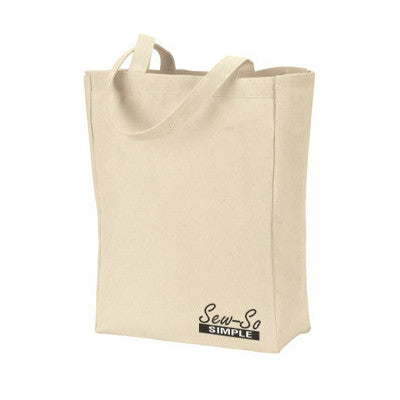 Gemline All-Purpose Tote - Natural - EZ Corporate Clothing
