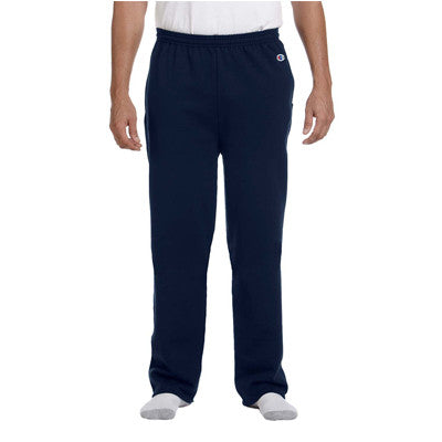 Champion Adult Open-Bottom Sweatpants With Pockets - EZ Corporate Clothing  - 3