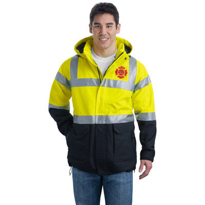 Port Authority Safety Heavyweight Parka - EZ Corporate Clothing  - 1