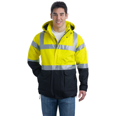 Port Authority Safety Heavyweight Parka - EZ Corporate Clothing  - 2