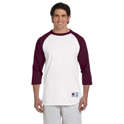 Champion 6.1oz. Tagless Raglan Baseball T-Shirt - EZ Corporate Clothing  - 11