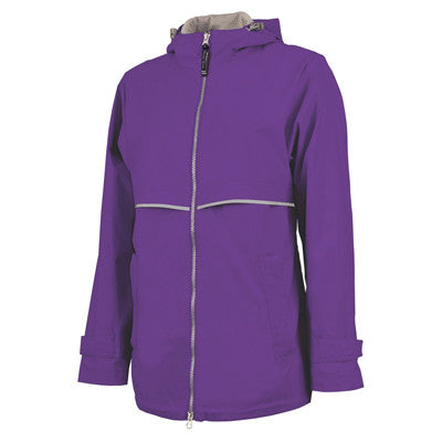 Charles River Womens Rain Jacket - EZ Corporate Clothing  - 12