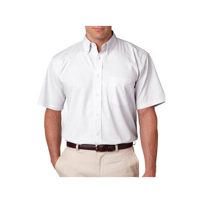 UltraClub Short-Sleeve Whisper Twill Shirt - EZ Corporate Clothing  - 9