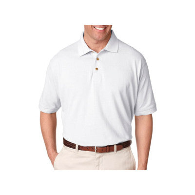 UltraClub Tall Classic Pique Polo - EZ Corporate Clothing  - 5