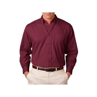 UltraClub Mens Whisper Twill Shirt - EZ Corporate Clothing  - 12