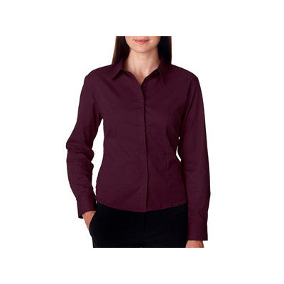UltraClub Ladies Whisper Twill Shirt - EZ Corporate Clothing  - 11