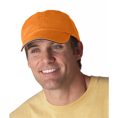 Anvil Solid Pigment-Dyed Twill Sandwich Cap - EZ Corporate Clothing  - 8