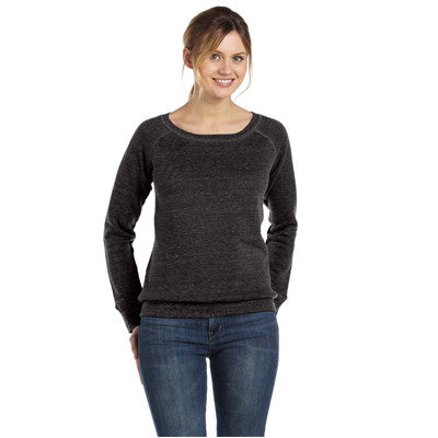 Bella Ladies 8.2Oz. Triblend Slouchy Wide Neck Fleece - EZ Corporate Clothing  - 2