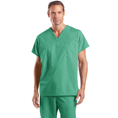 Cornerstone Reversible V-Neck Scrub Top - EZ Corporate Clothing  - 3