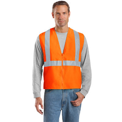 Cornerstone ANSI Compliant Safety Vest - EZ Corporate Clothing  - 2